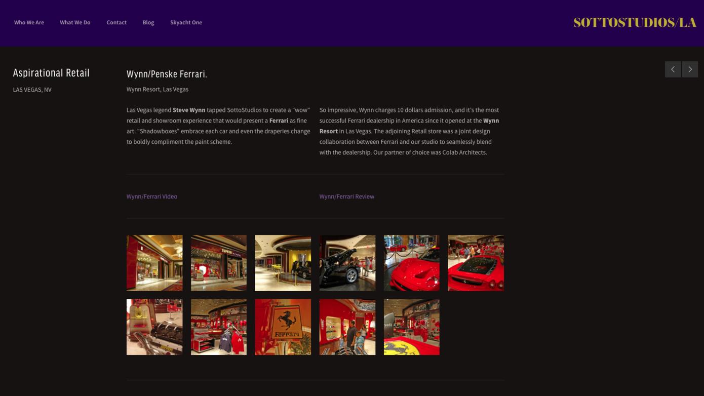 Wynn Ferrari - Luxury Retail