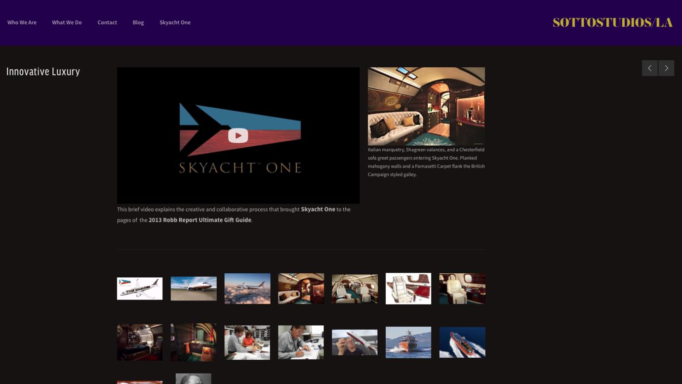 SkyYacht One - Innovative Luxury in Aviation