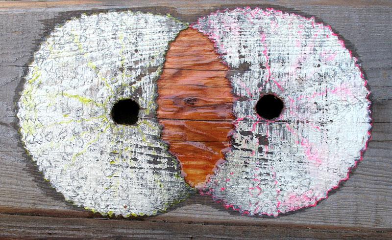charlie-callahan-urchin-painting-on-redwood.JPG