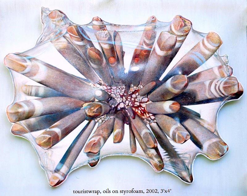 charlie-callahan-pencil-urchin-shrinkwrap-oils-on-styrofoam.jpg
