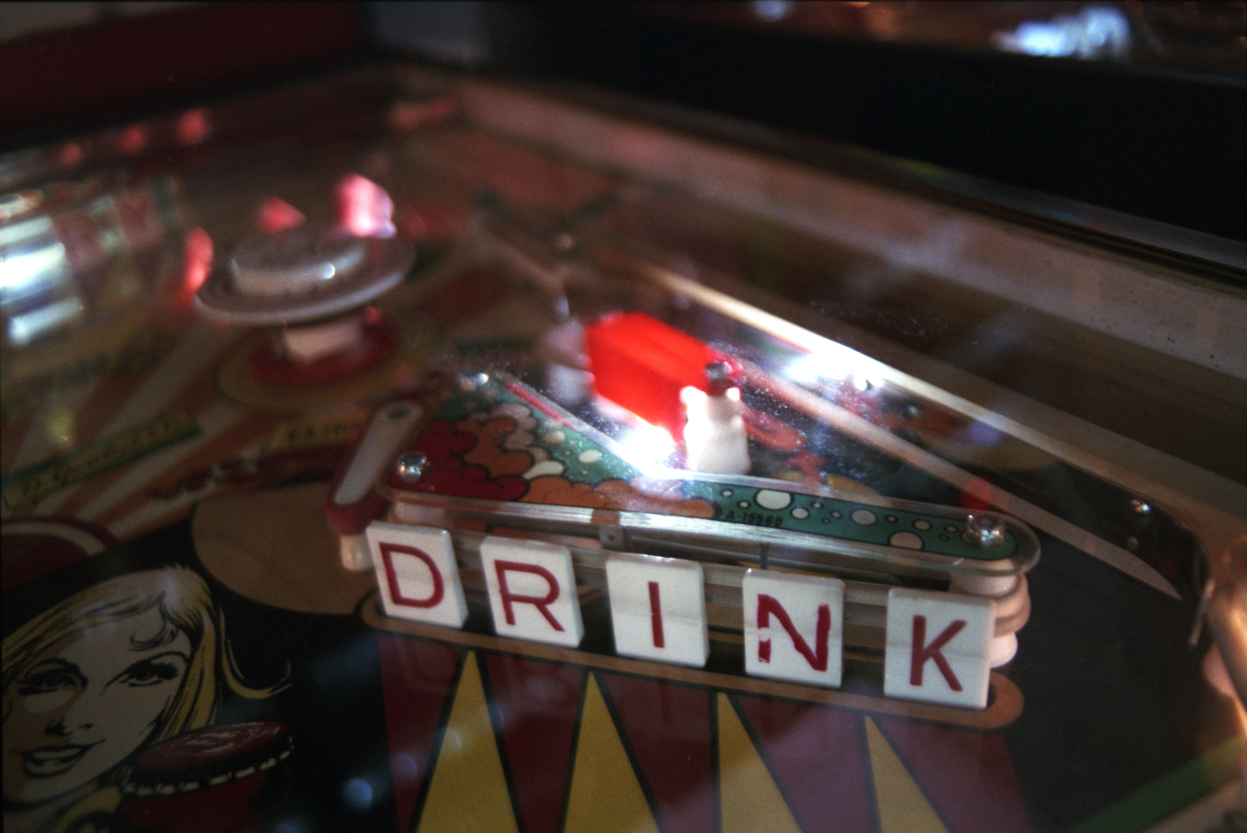 Drink,  part of the Pinball Hall of Fame series
