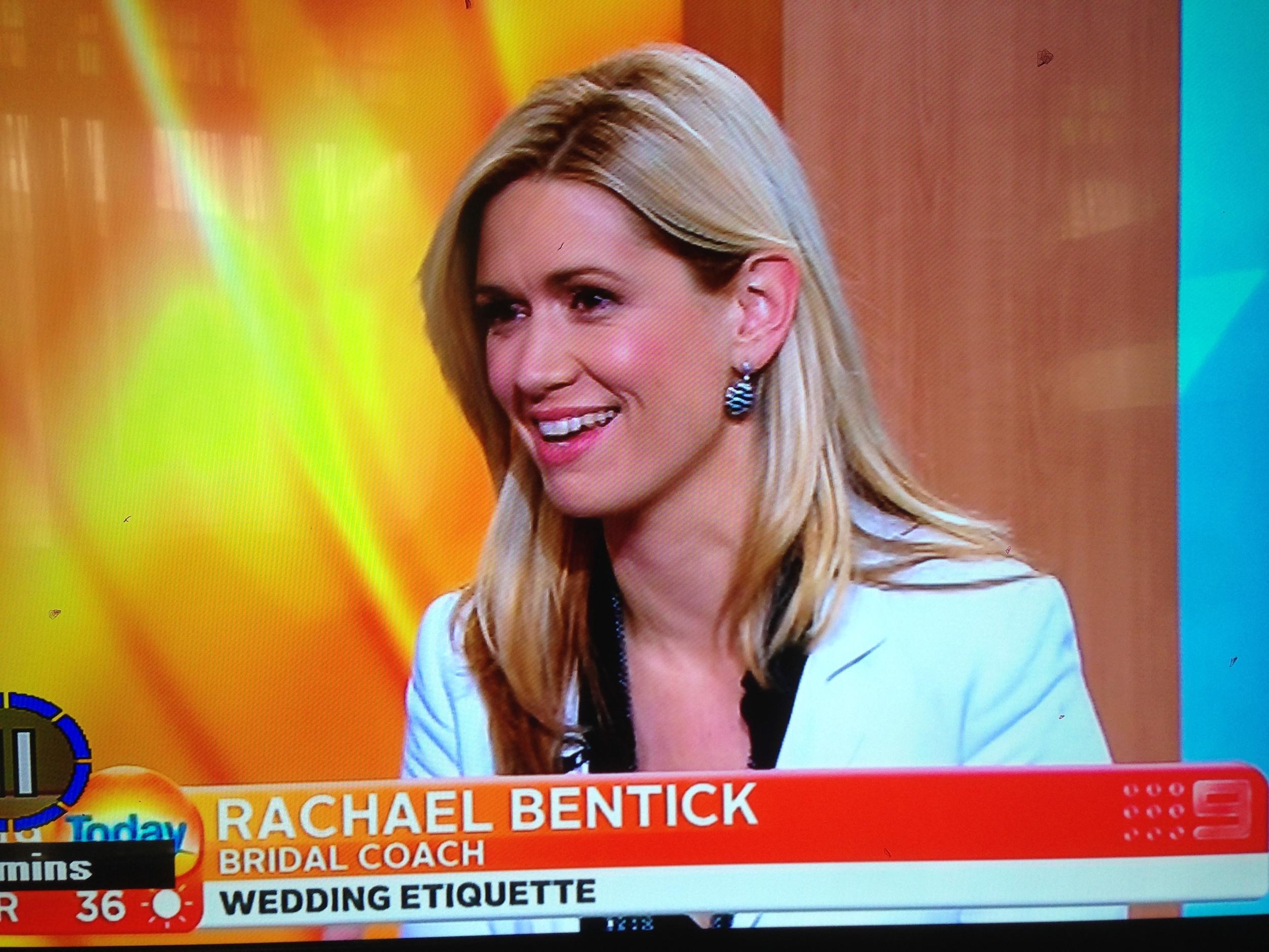 Rachael Bentick - Today Show
