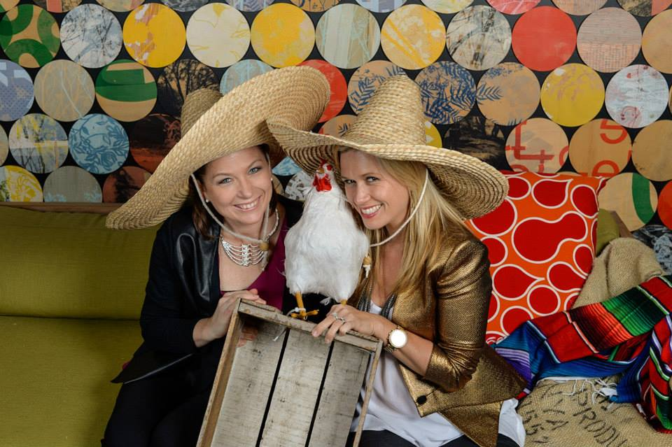 The Mexican themed Nikon Dinner, complete with chicken inspired photobooth!