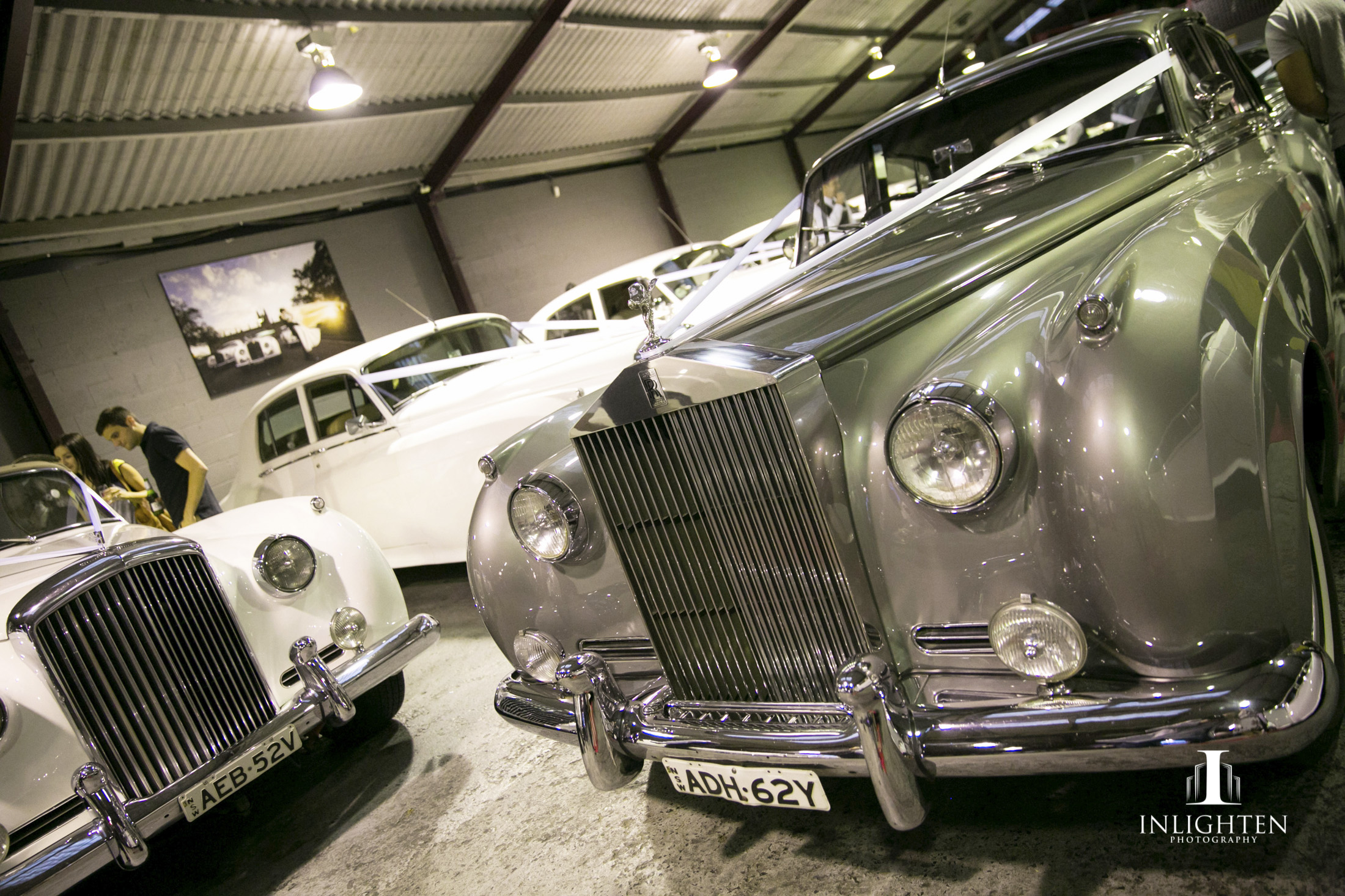 Over 40 Rolls Royces in the showroom
