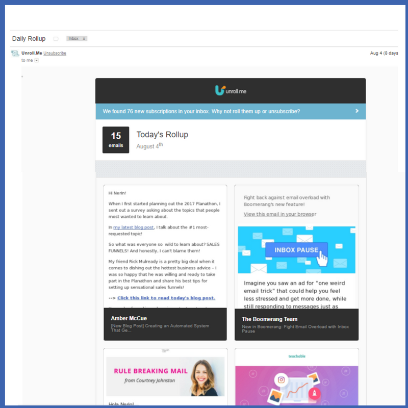 3 Options to Deal with Newsletters and Declutter your Emails
