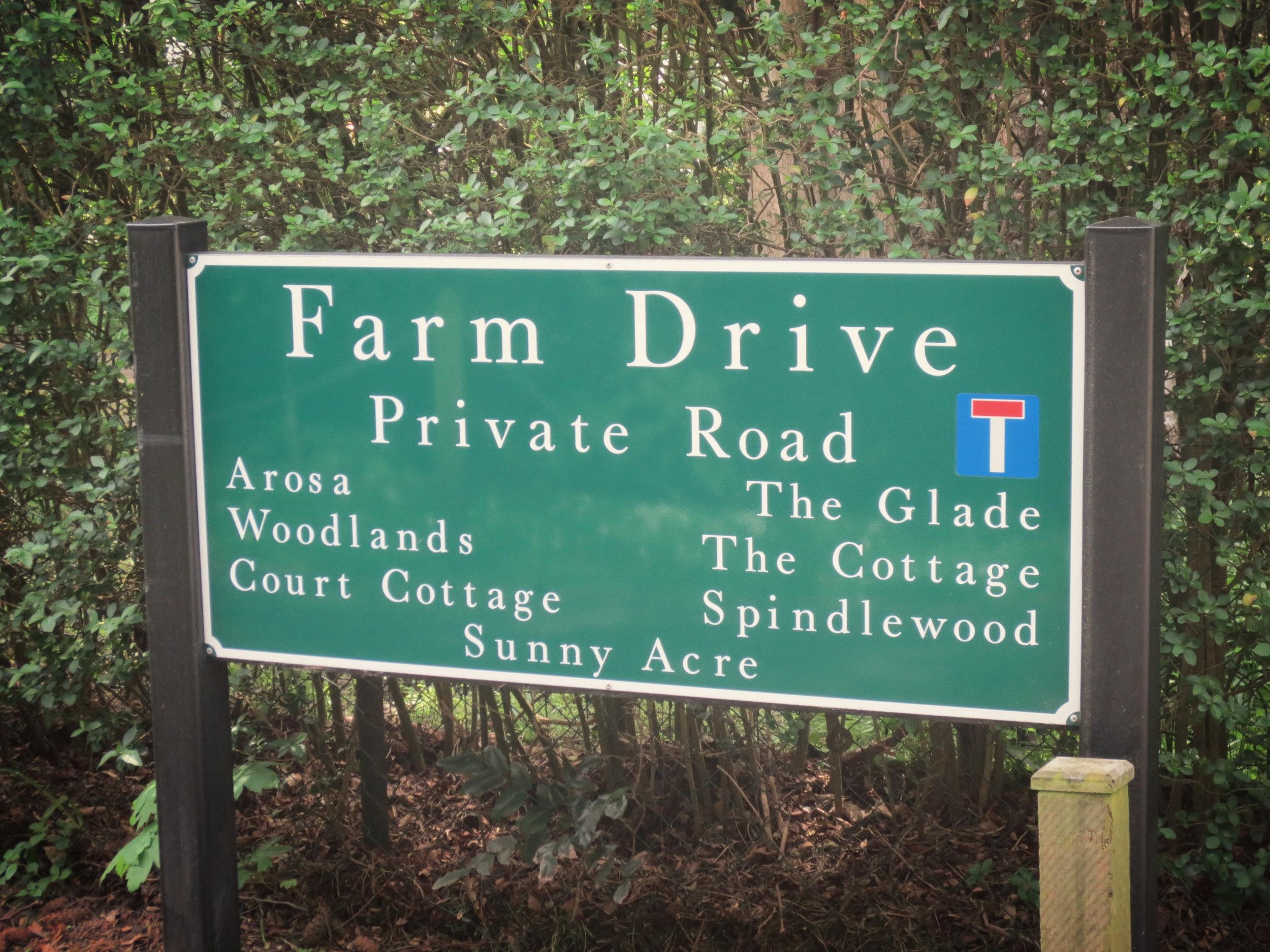 BIRCH LANE        & FARM DRIVE