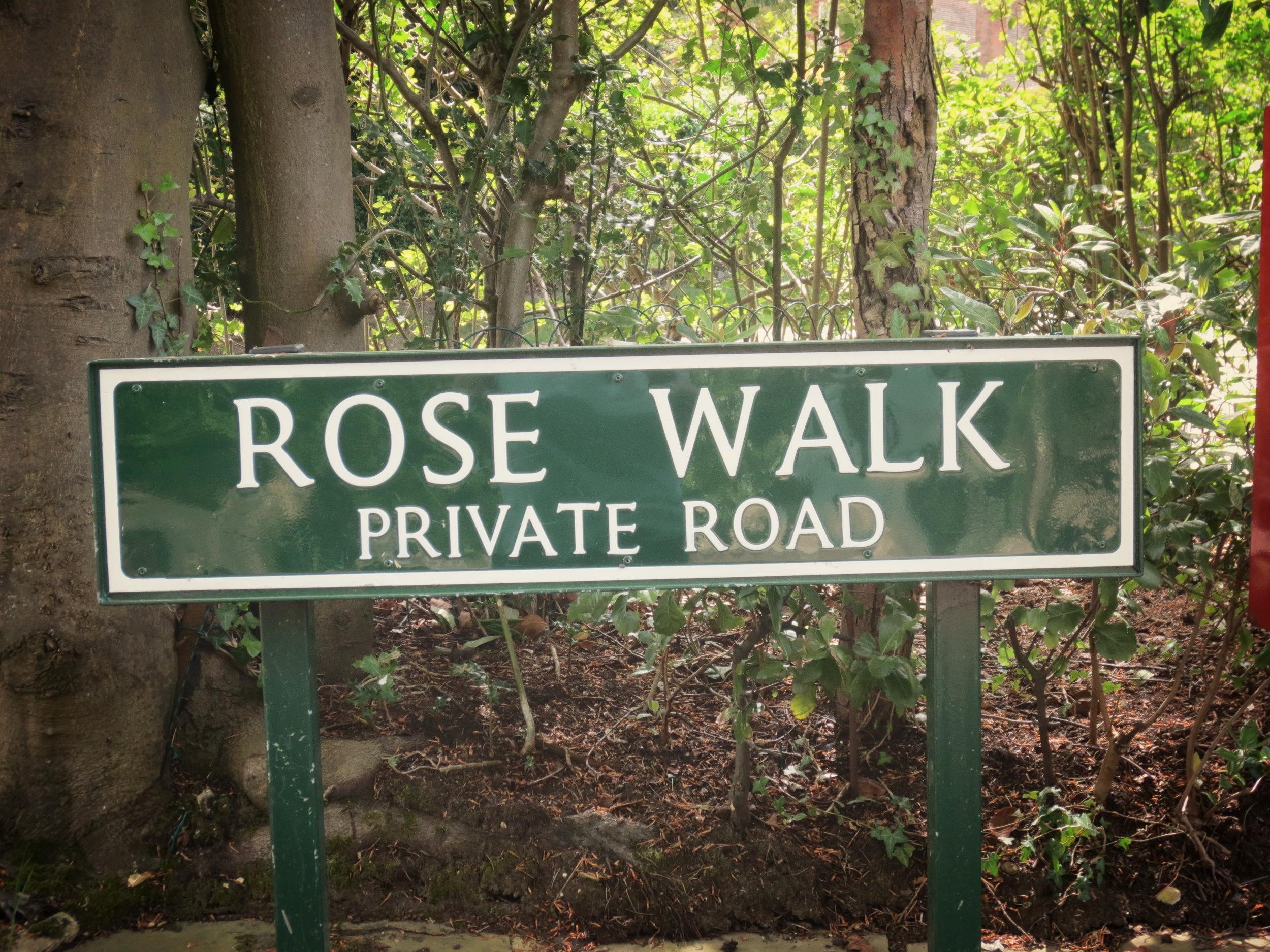 ROSE WALK