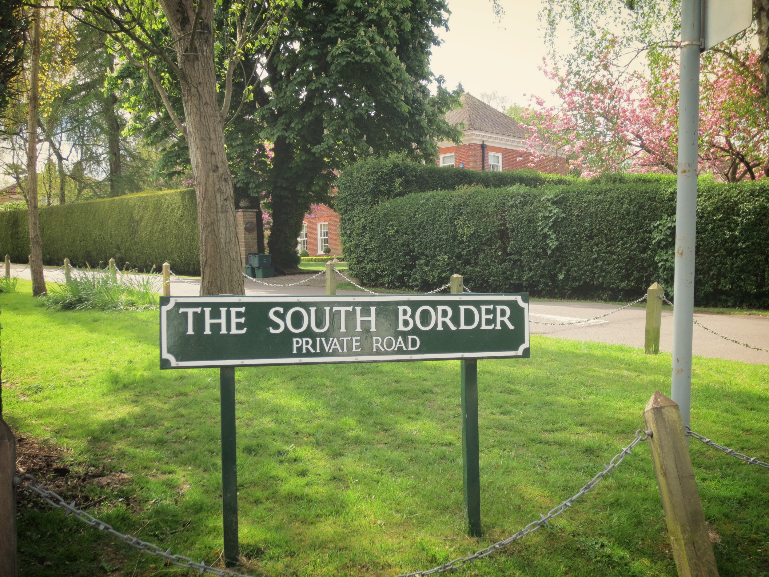 THE SOUTH BORDER