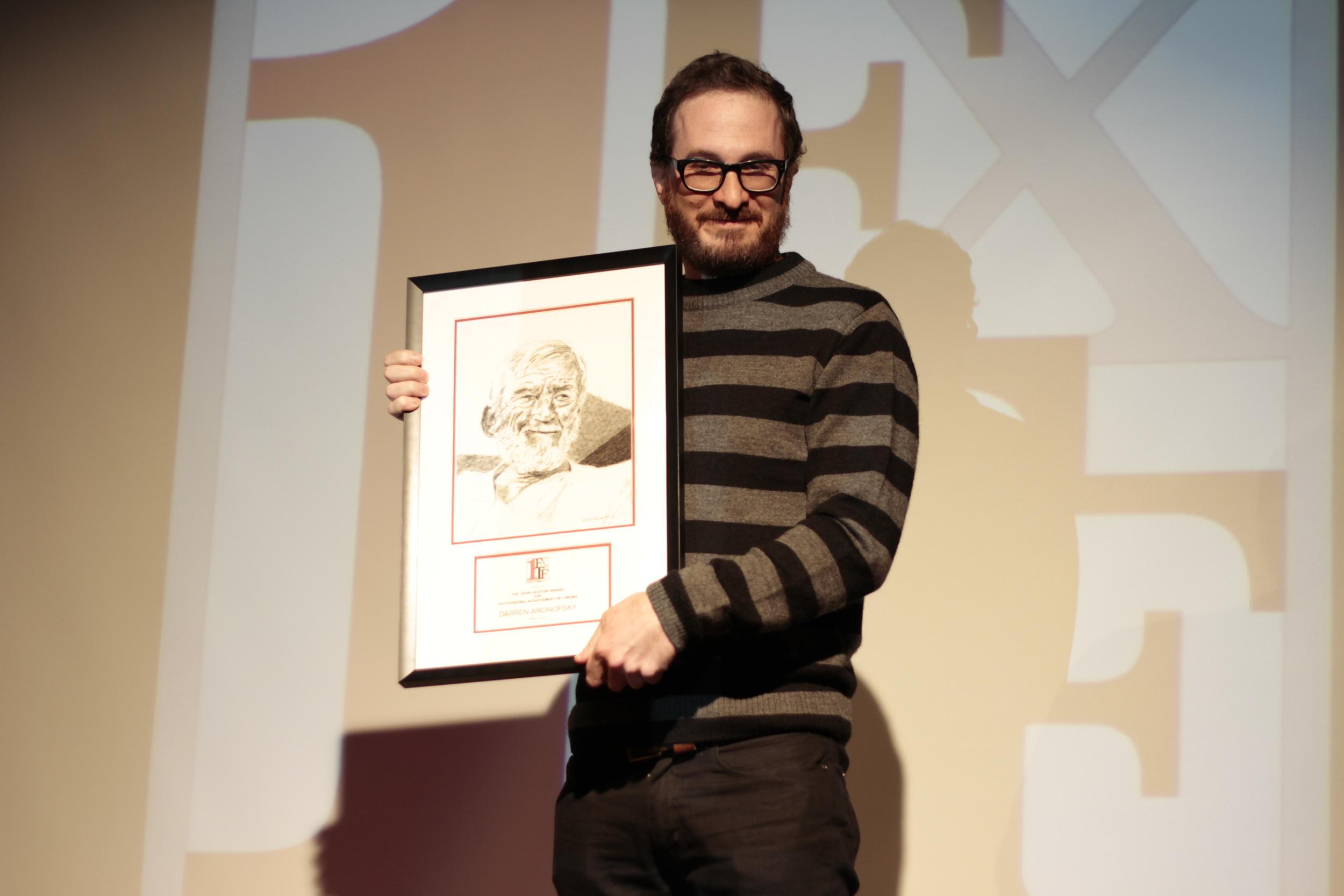 2013 John Huston Award Honoree, Darren Aronofsky