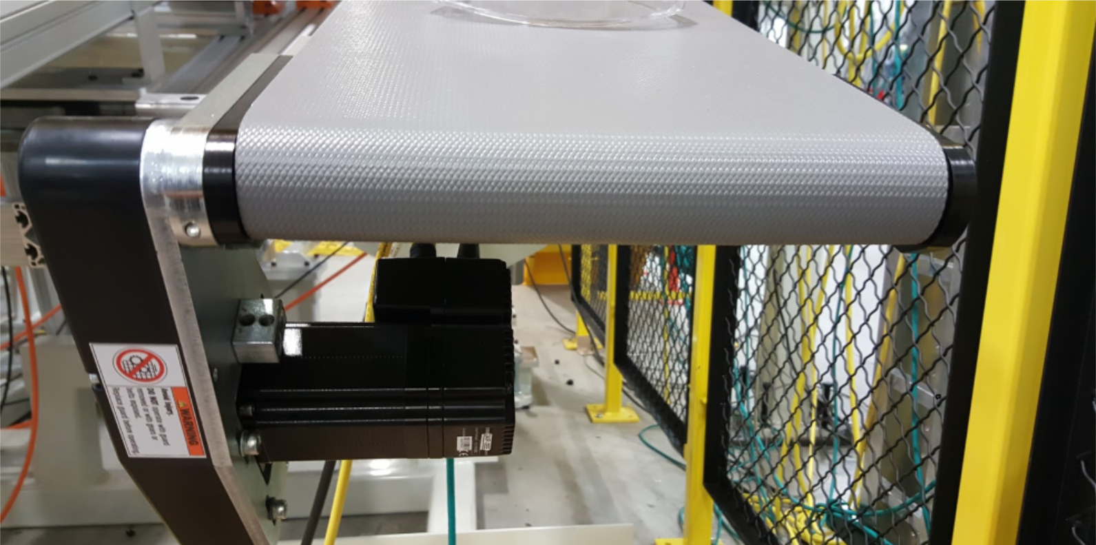 QC Industries AS40 Conveyor with Applied motion products stepservo motor