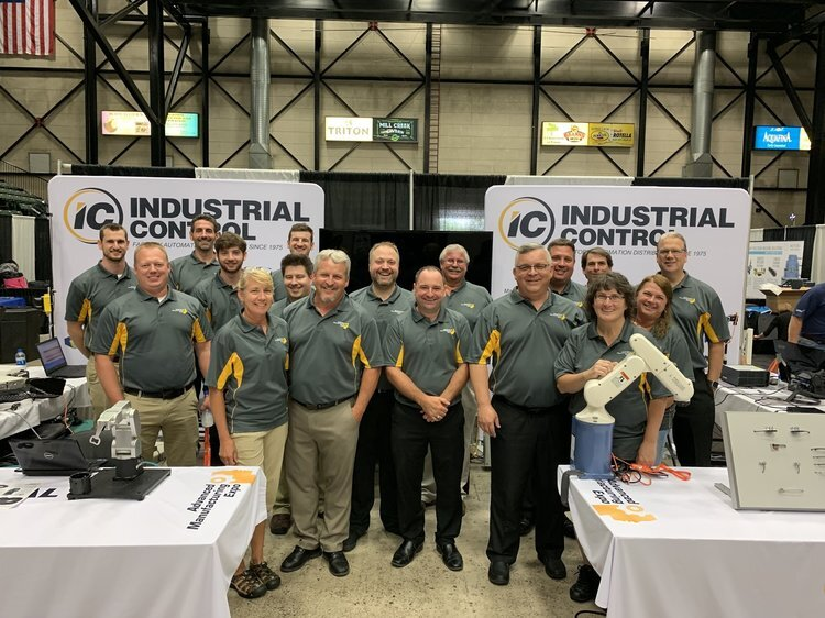 Photo taken after the 2019 ADVANCED manufacturing expo in grand rapids, mi