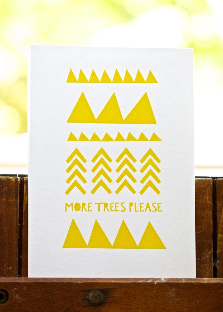More Trees Please by YOKE