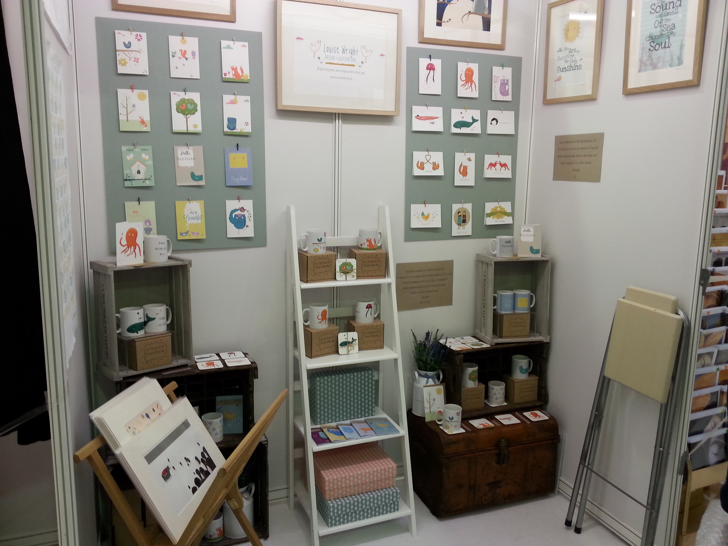 My stand at BCTF