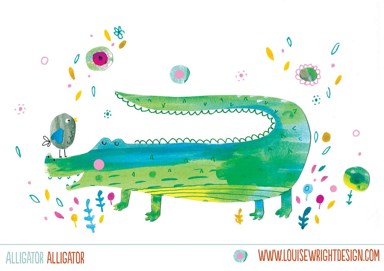 Louise Wright Alligator