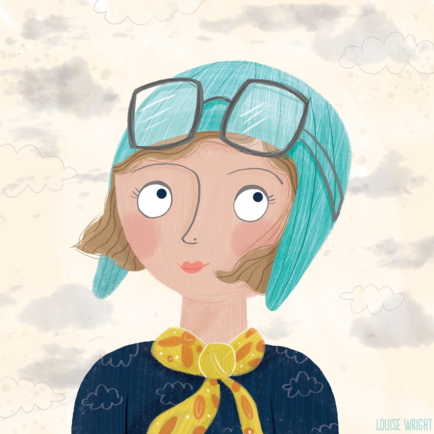 Amelia Earhart by Louise Wright