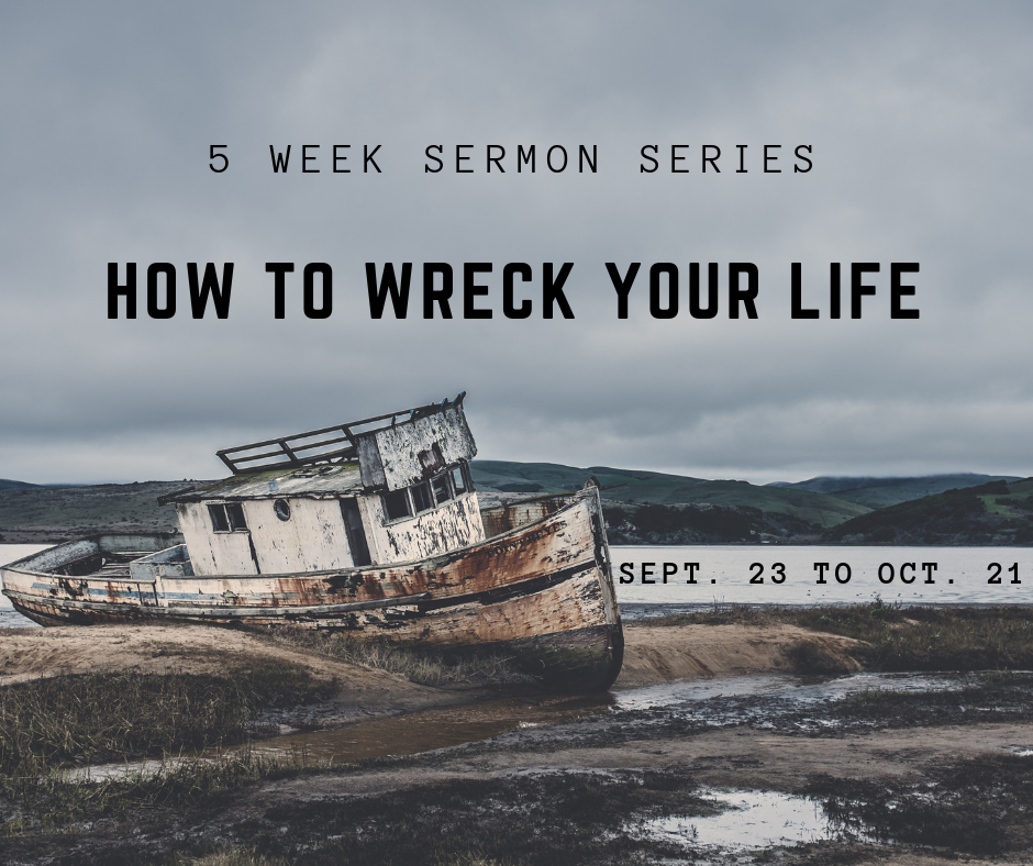 Which idol is God's biggest rival in your life? This sermon series examines some of the most common idols of our culture and how they can wreck our lives. The series then looks at how we can go down a different path.
