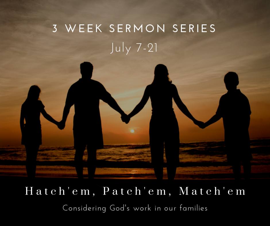 This sermon series considers what God does through various aspects of the family, such as marriage, parenting, and healing brokenness. And, this series is designed to build up not only biological families but also our church family, since God's plan is that the church should be a type of family where people can belong and be at home and embraced.