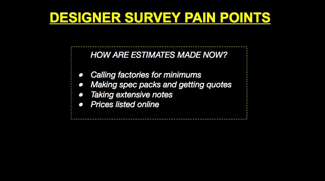 Apparel Pain Points