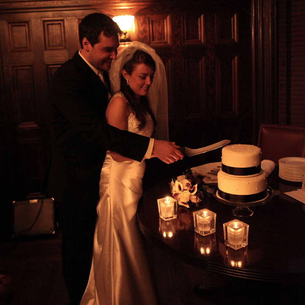 Wedding Reception at Forepaugh's Restaurant. Saint Paul, MN.