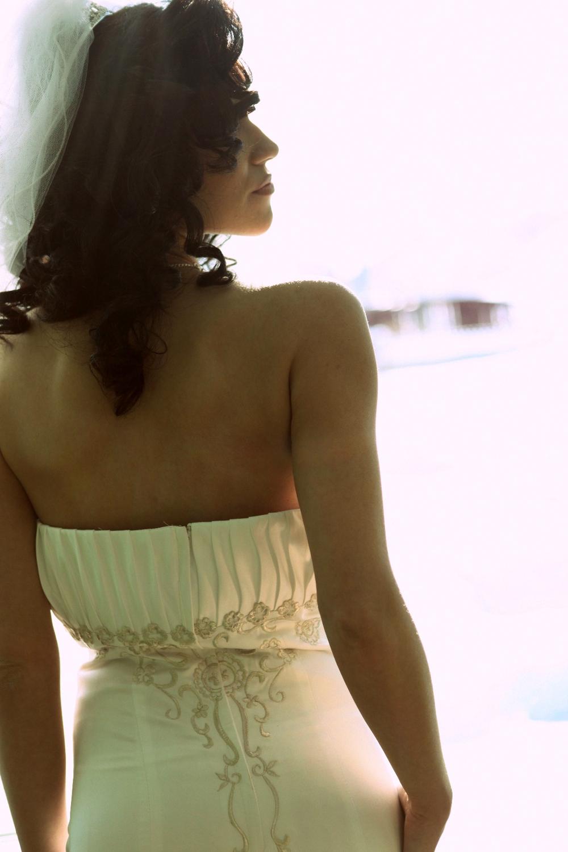 Central Park wedding in Woodbury, MN. Beautiful bridal portrait.