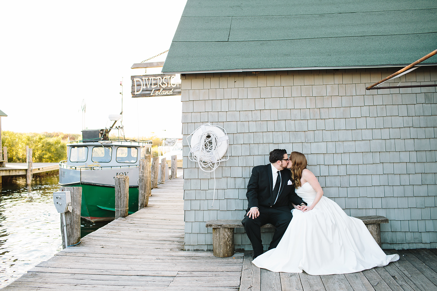 boat club wedding in michigan