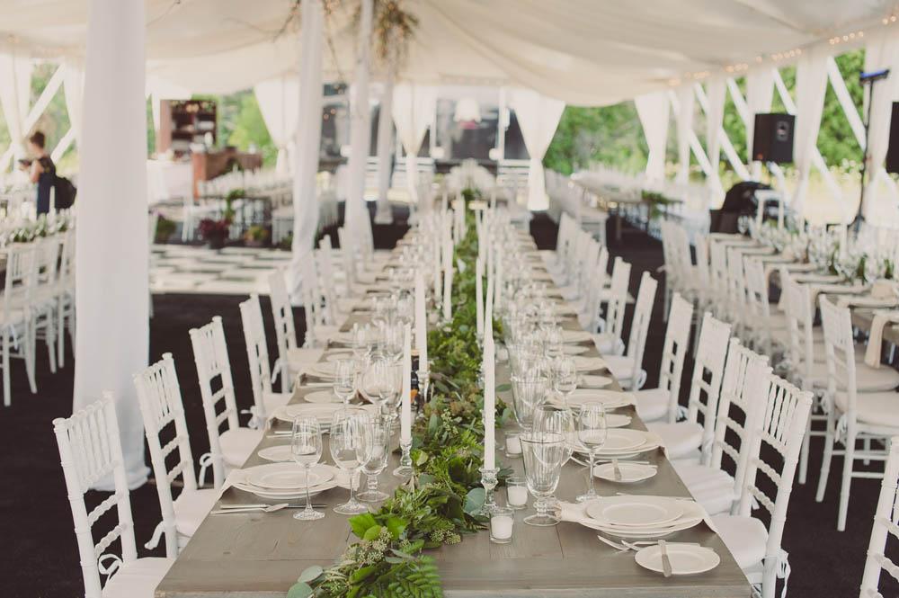 elegant dockside private residence wedding