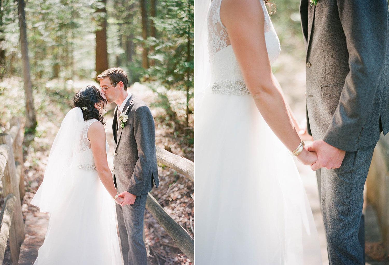 rustic chic taupe lakeside lodge wedding