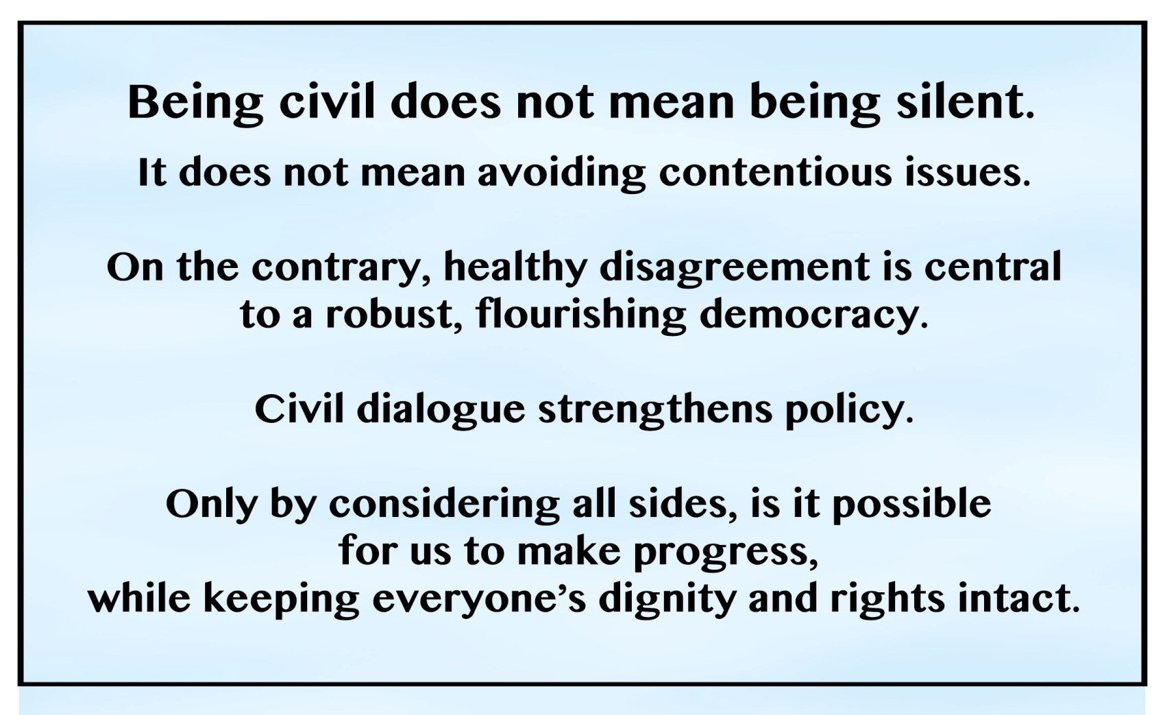 Civility Definition: Tools for Tough Conversations