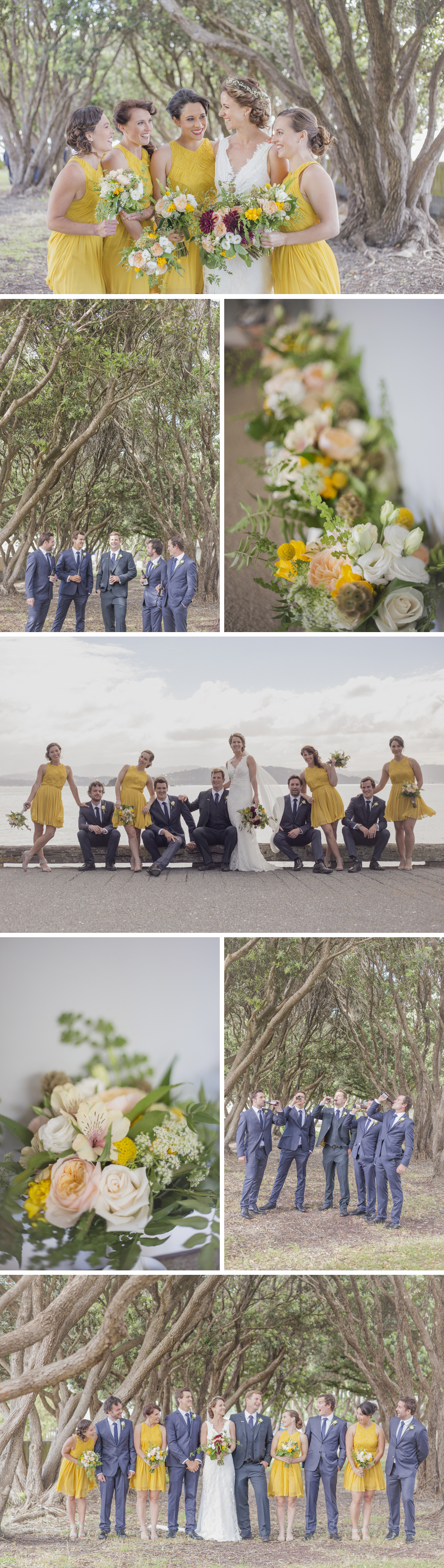 Wedding Photography in Eastbourne, Wellington, NZ.