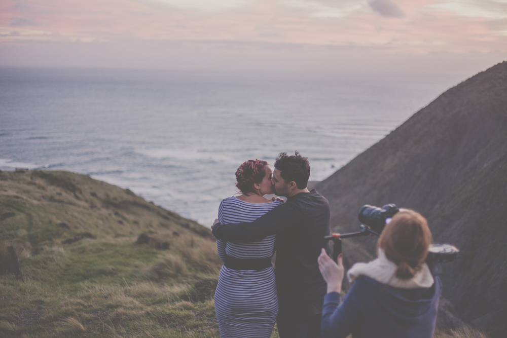 Wellington Wedding photographer stays creative.
