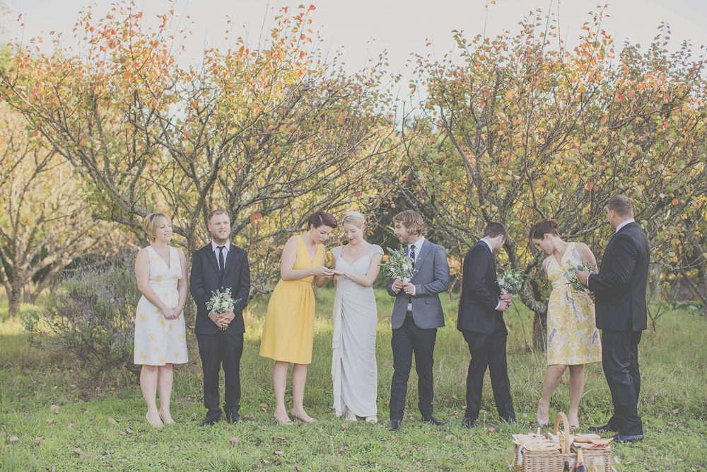 Milk Station Wedding in autumn by Wellington wedding photographer, Jenny Siaosi.
