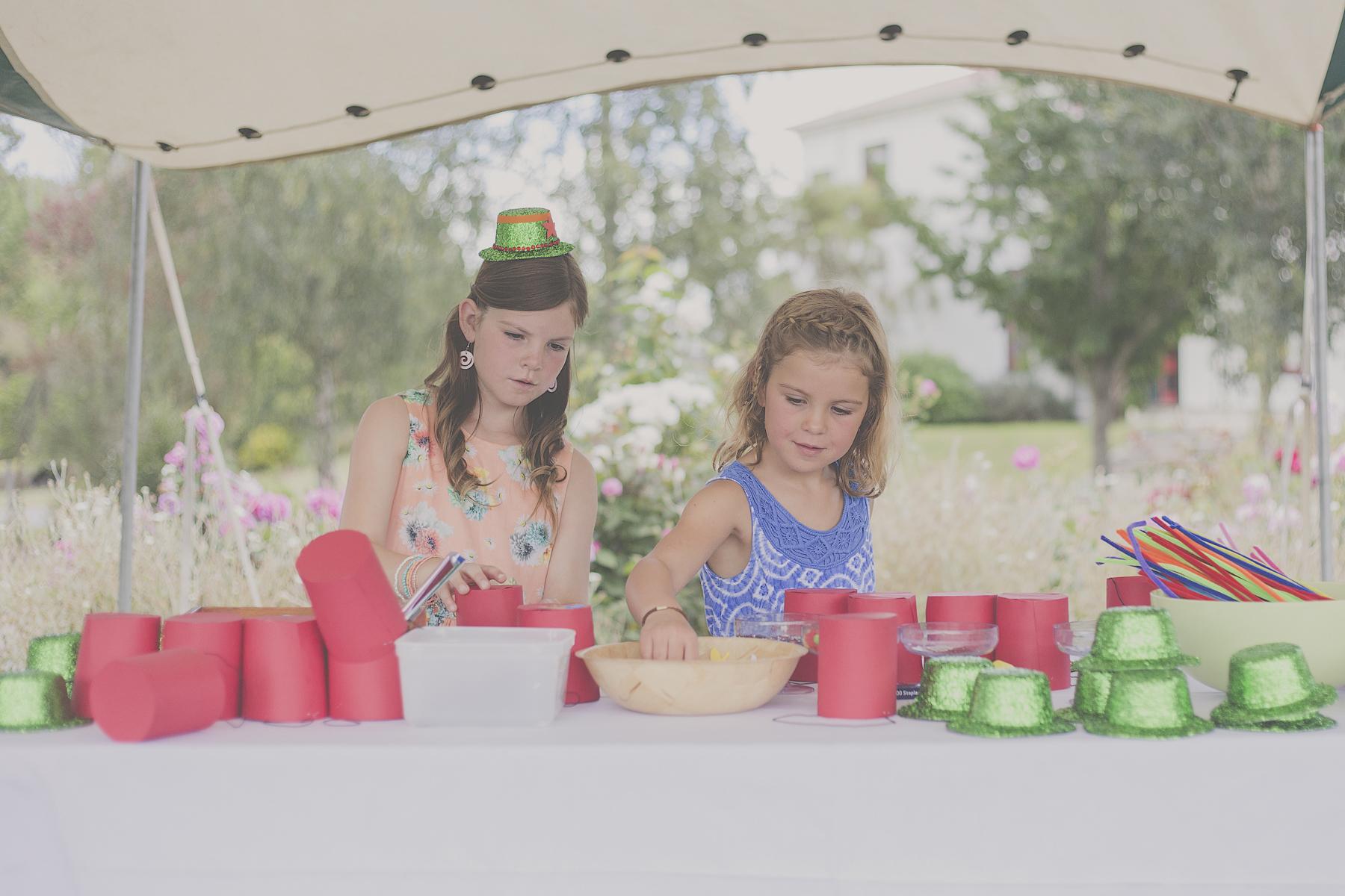 Kids at wedding. Photography by Jenny Siaosi.