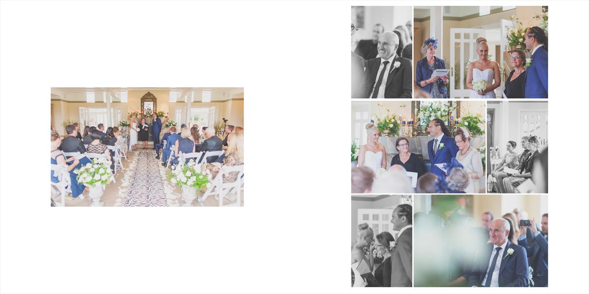 Beginning of the wedding ceremony.