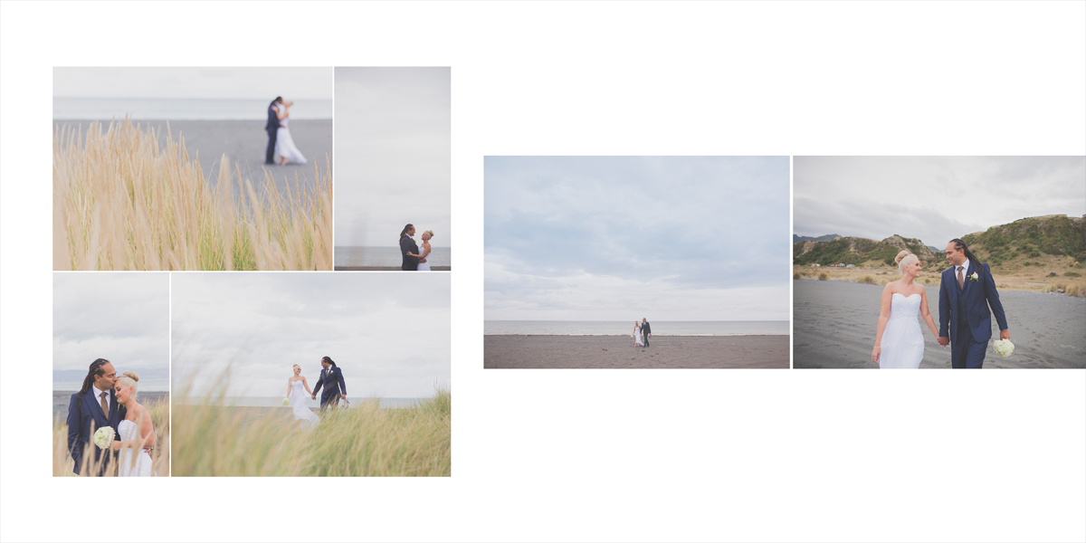 Beautiful beach scene wedding location photos.