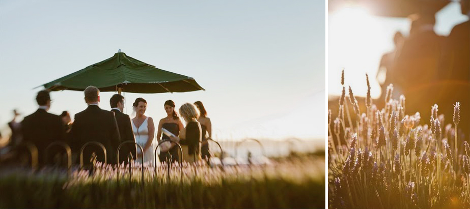Winter Wedding at Mudbrick Vineyard in 2010, photos by Jenny Siaosi. First time with the lens-baby lens.