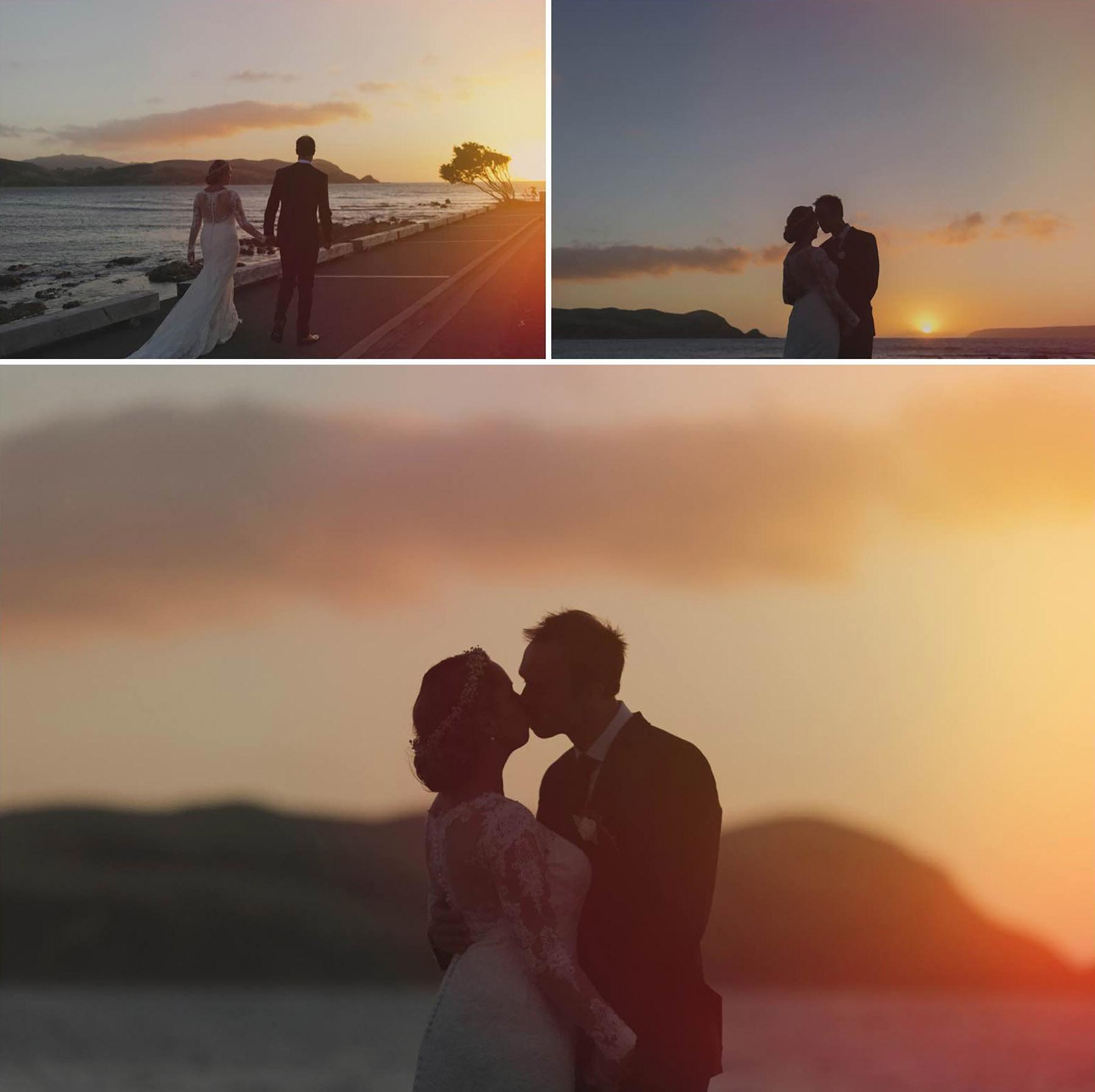 Jenna and Matt's wedding in Plimmerton, wellington, NZ. Images - Siaosi Photography.