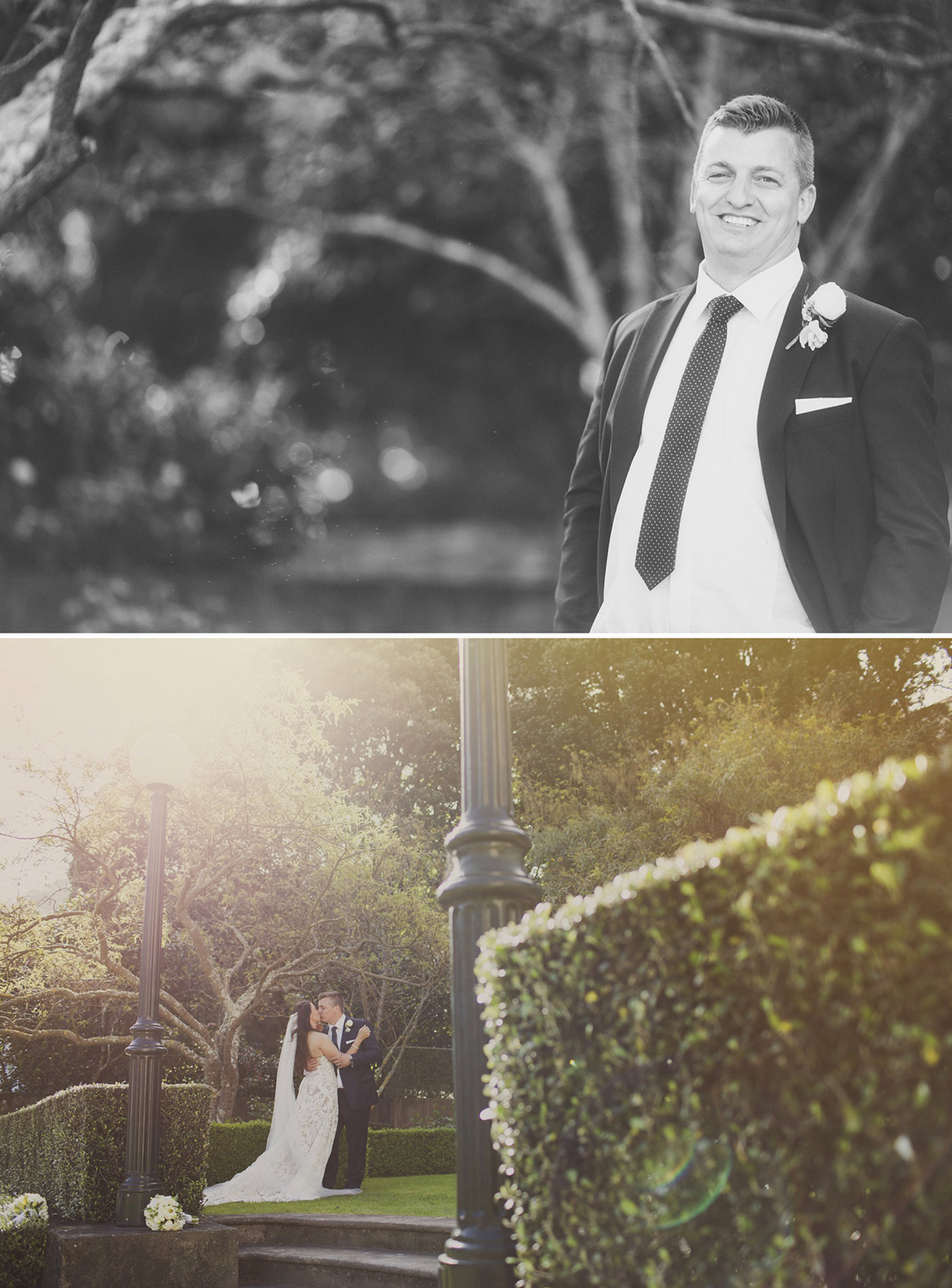 Natural and un-posed wedding at St Mary's of the Angels in Wellington City. Wedding album layout for Nisha and Sam. Photography and design by Jenny Siaosi.