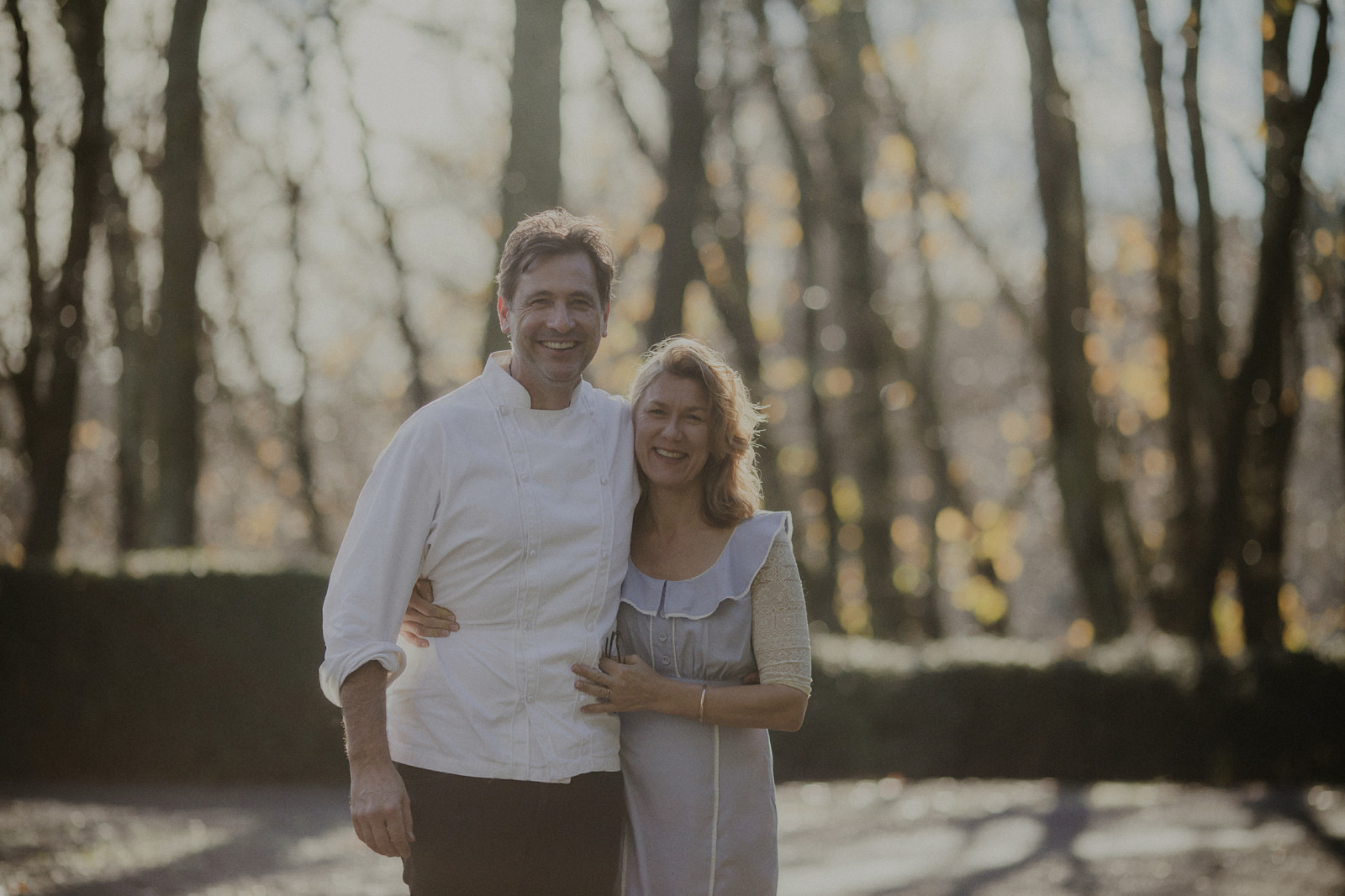 Chirs Stockdale and Jeanette Woerner - the talent behind Wallingford Kitchen