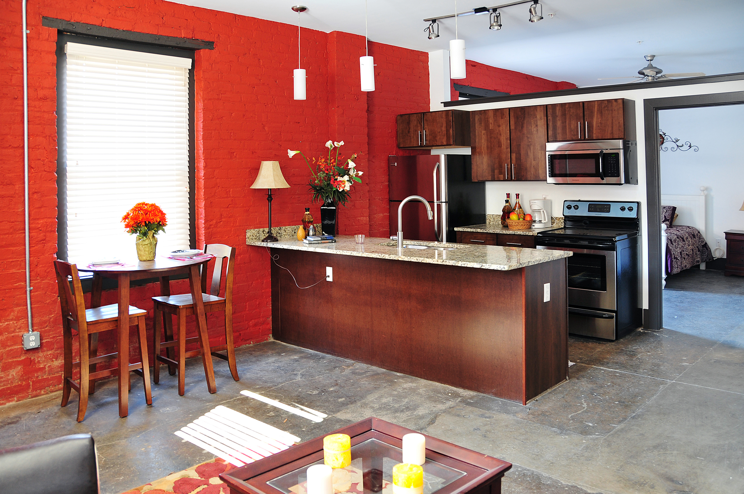 5 spot flats - kitchen