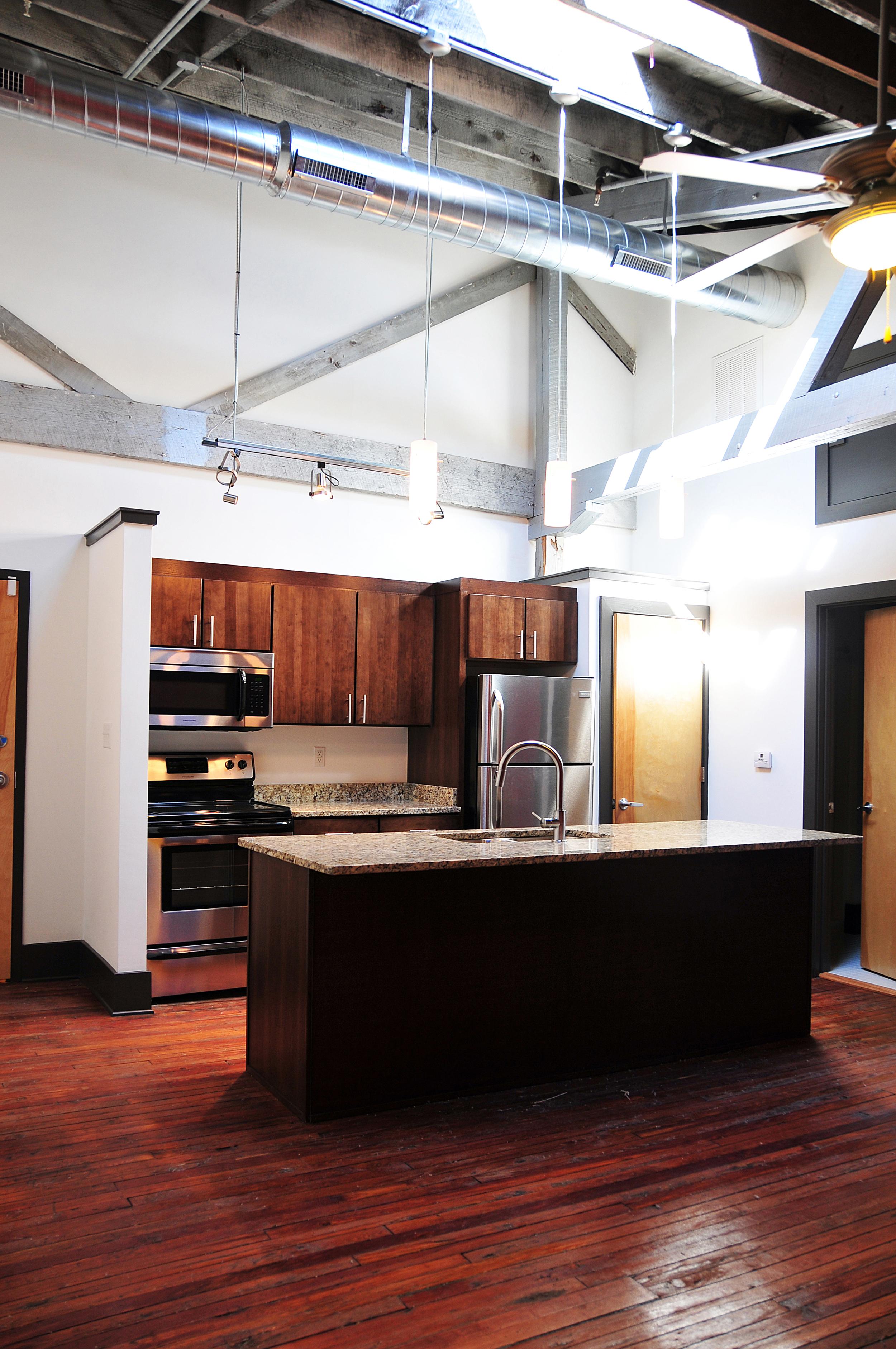 5 spot flats - ceiling