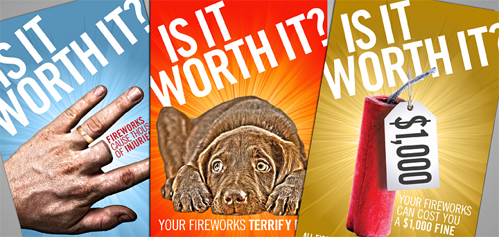 Is it Worth It? Fireworks Campaign