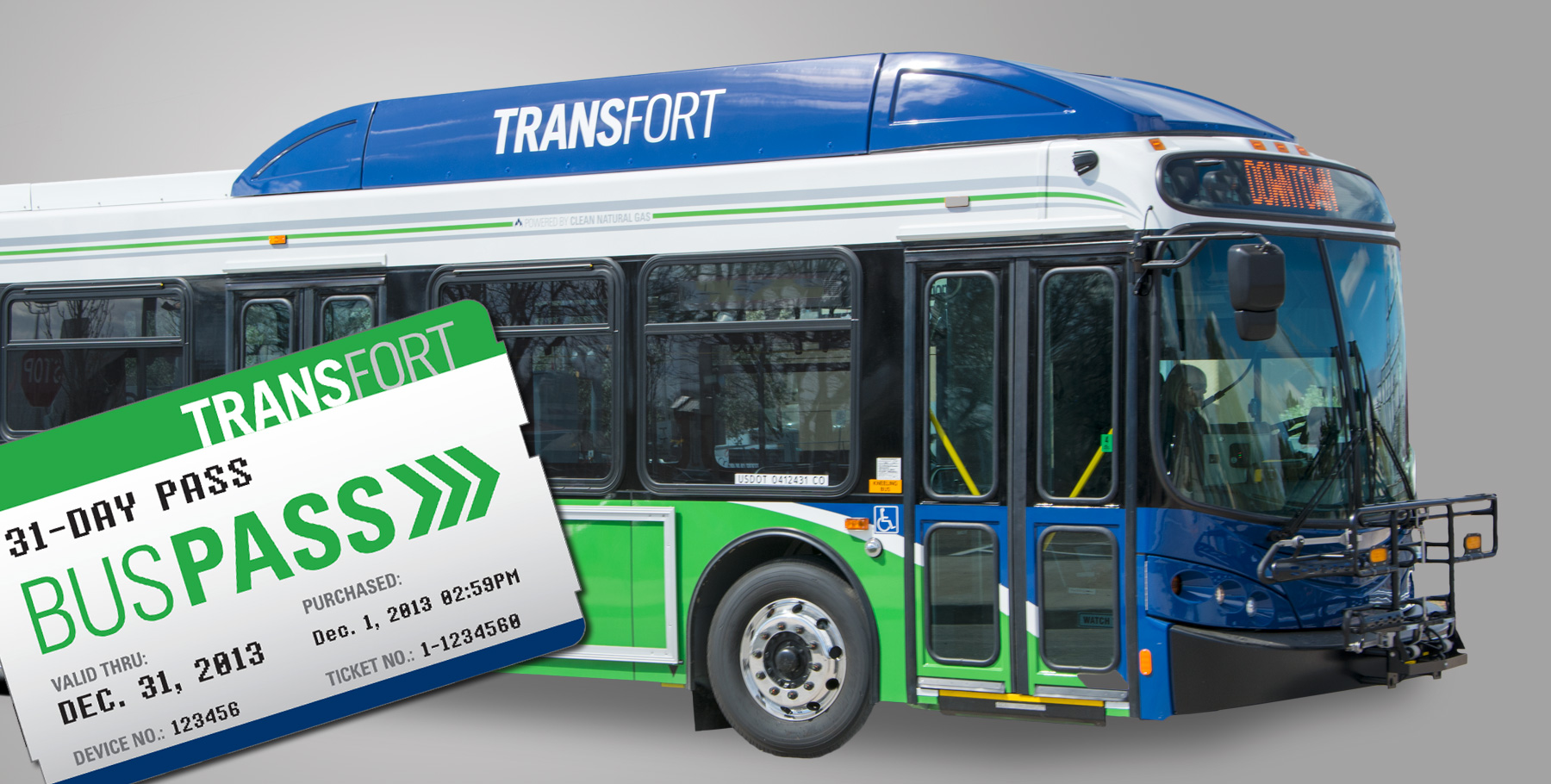 Transfort Bus Design & Pass