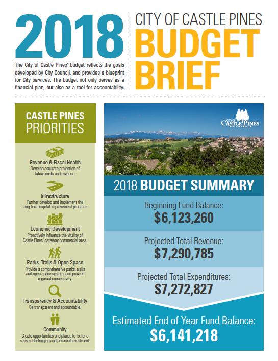 Castle Pine Budget Brief