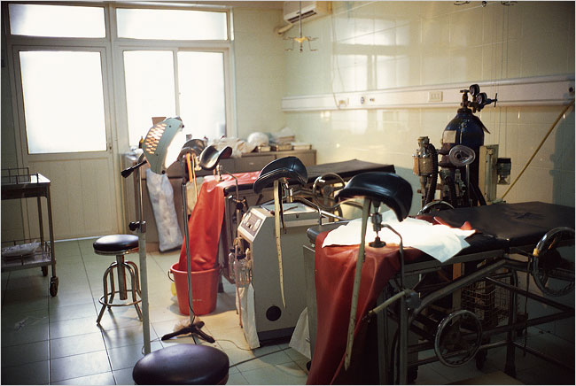 The tools of death -- operating room of late-term abortuary owned by Boyd
