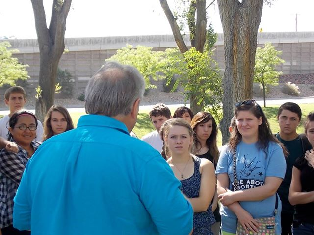 Jeff White equips the youth to expose abortion, asking #ABQ Do You Know? Do You Care?