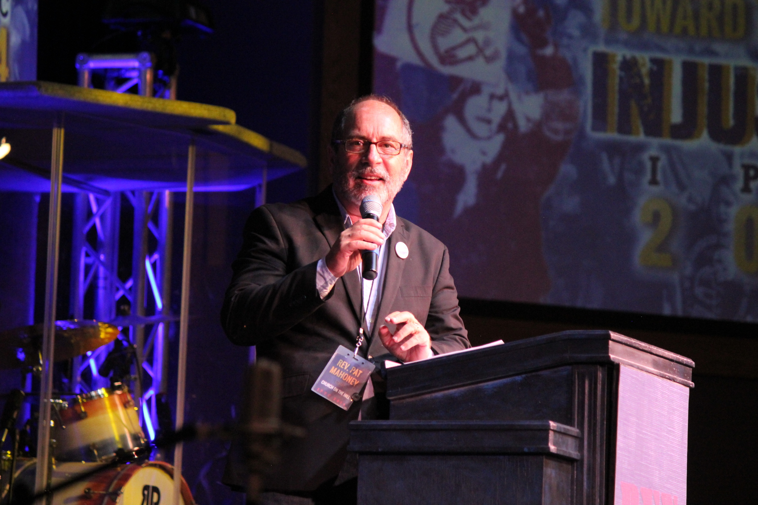 Rev. Pat Mahoney, Christian Defense Coalition