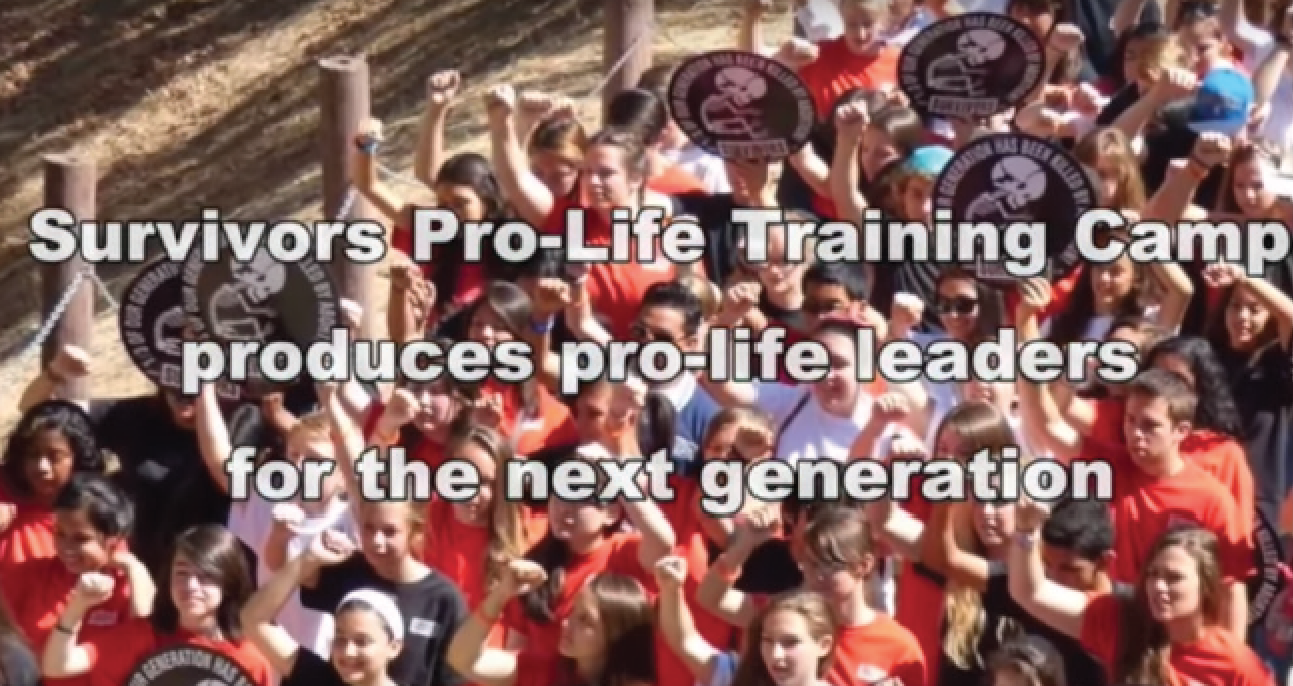 Over the last twenty years, our group, Survivors of the Abortion Holocaust, has trained more pro-life, anti-abortion activists than any group in America.
