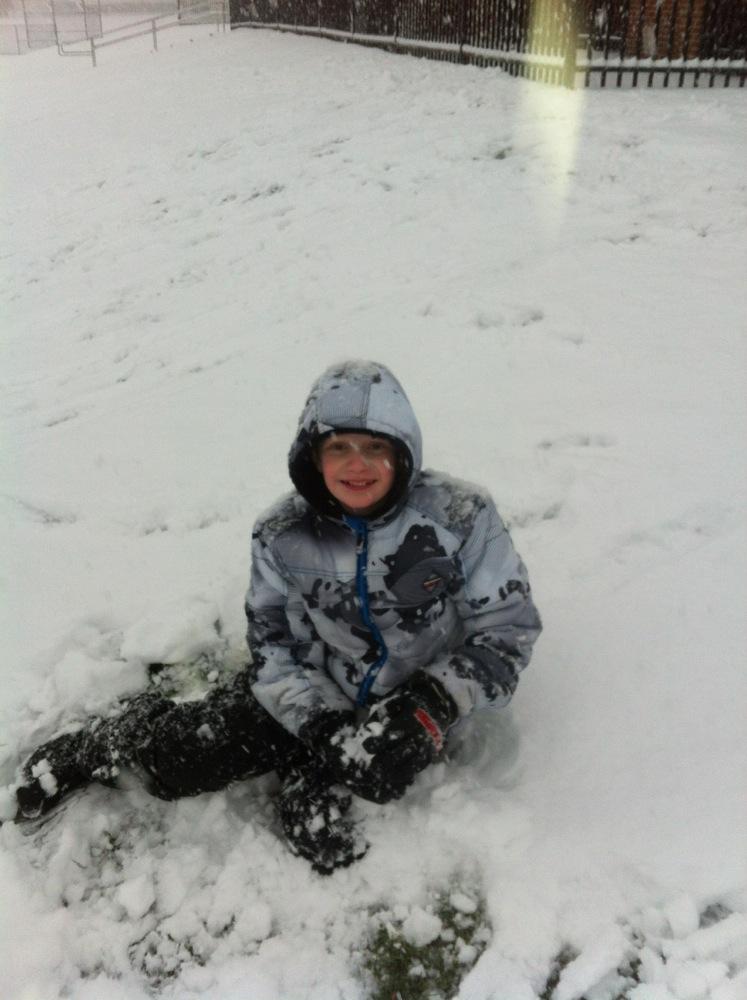 Snow! No School!
