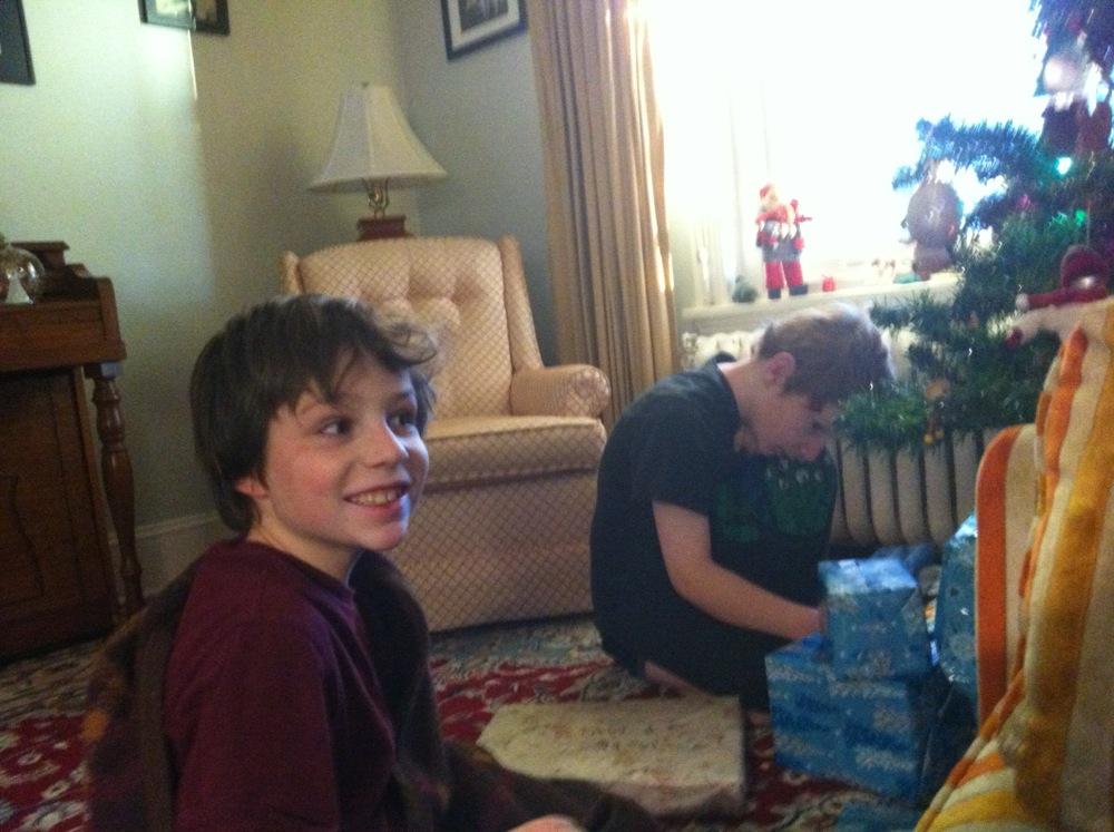 Christmas Morning at last!