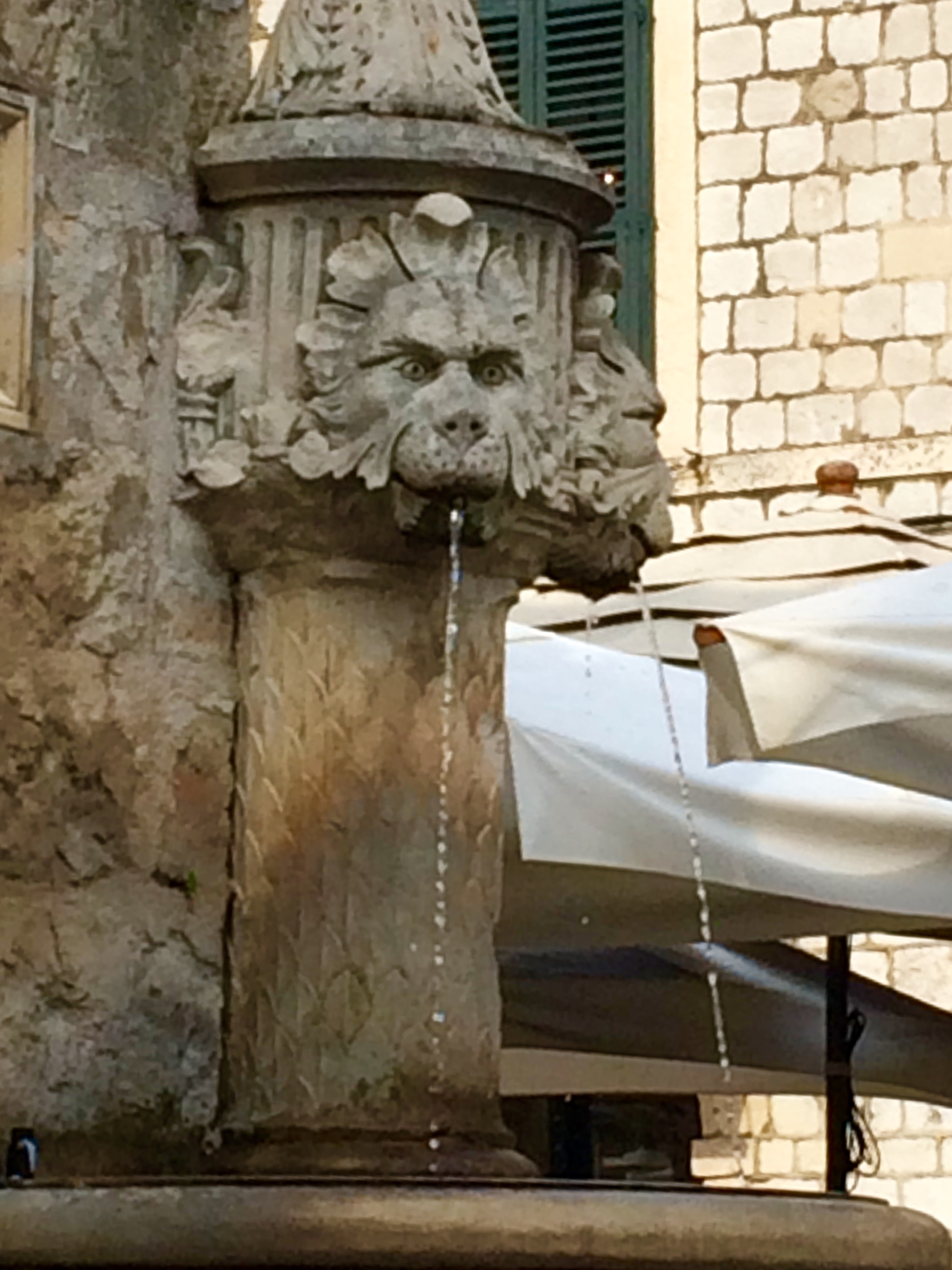 Lion's Head fountain